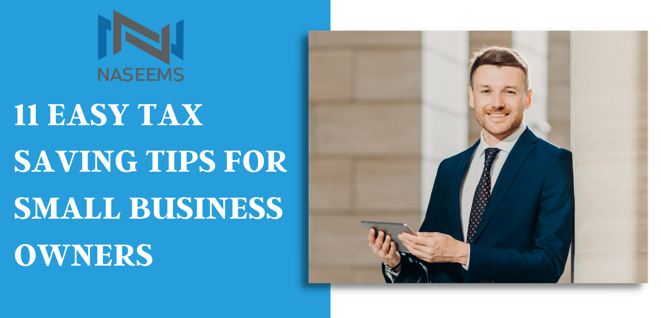 tax saving tips for small business owners